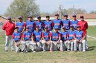 McCurdy Bobcats Boys Varsity Baseball Spring 16-17 team photo.