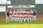 Newport Greyhounds Boys Varsity Baseball Spring 16-17 team photo.