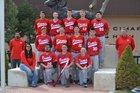 Cimarron Rams Boys Varsity Baseball Spring 16-17 team photo.