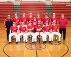 Saranac Chiefs Boys Varsity Baseball Spring 16-17 team photo.