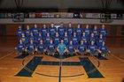 Mountain Home Bombers Boys Varsity Baseball Spring 16-17 team photo.