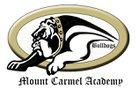 Mount Carmel Academy Bulldogs Boys Varsity Baseball Spring 16-17 team photo.