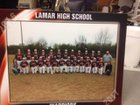 Lamar Warriors Boys Varsity Baseball Spring 16-17 team photo.