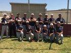 Riverside Prep Silver Knights Boys Varsity Baseball Spring 16-17 team photo.