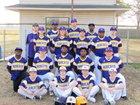 Dumas Bobcats Boys Varsity Baseball Spring 16-17 team photo.
