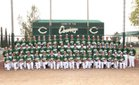 Canyon Cowboys Boys Varsity Baseball Spring 16-17 team photo.