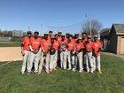 Riverside University Tigers Boys Varsity Baseball Spring 16-17 team photo.