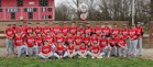 Lincolnwood/Morrisonville  Boys Varsity Baseball Spring 16-17 team photo.