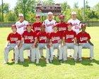 Arkansas Razorbacks Boys Varsity Baseball Spring 16-17 team photo.