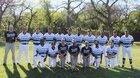 Roosevelt Mustangs Boys Varsity Baseball Spring 16-17 team photo.