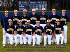 Rocky Mount Gryphons Boys Varsity Baseball Spring 16-17 team photo.