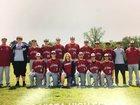Nemo Vista Red Hawks Boys Varsity Baseball Spring 16-17 team photo.