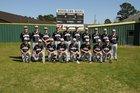 Woodlawn Bears Boys Varsity Baseball Spring 16-17 team photo.