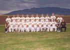 Cibola Cougars Boys Varsity Baseball Spring 16-17 team photo.