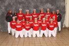 Lutheran West Longhorns Boys Varsity Baseball Spring 16-17 team photo.