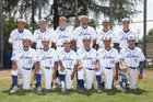 El Monte Lions Boys Varsity Baseball Spring 16-17 team photo.