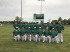 Hoxie Mustangs Boys Varsity Baseball Spring 16-17 team photo.