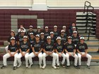 Riverside Rebels Boys Varsity Baseball Spring 16-17 team photo.