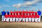 Pearce Mustangs Boys Varsity Baseball Spring 16-17 team photo.