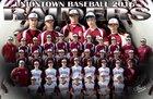Uniontown Red Raiders Boys Varsity Baseball Spring 16-17 team photo.