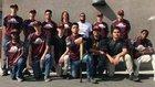 Aspire Langston Hughes Academy Titans Boys Varsity Baseball Spring 16-17 team photo.