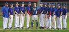 Hillcrest Screamin Eagles Boys Varsity Baseball Spring 16-17 team photo.