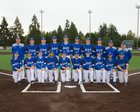 Bothell Cougars Boys Varsity Baseball Spring 16-17 team photo.