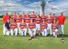 Economedes Jaguars Boys Varsity Baseball Spring 16-17 team photo.