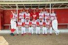 Gustine Reds Boys Varsity Baseball Spring 16-17 team photo.