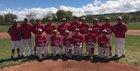 Robertson Cardinals Boys Varsity Baseball Spring 16-17 team photo.