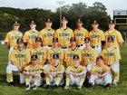 Bishop O'Dowd Dragons Boys Varsity Baseball Spring 16-17 team photo.