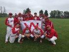 Mississinewa Indians Boys Varsity Baseball Spring 16-17 team photo.