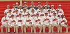 Archbishop Spalding Cavaliers Boys Varsity Baseball Spring 16-17 team photo.