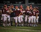 Saginaw Rough Riders Boys Varsity Baseball Spring 16-17 team photo.