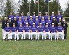 Brownsburg Bulldogs Boys Varsity Baseball Spring 16-17 team photo.