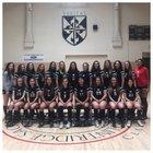Flintridge Sacred Heart Tologs Girls Varsity Soccer Winter 18-19 team photo.