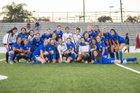 La Habra Highlanders Girls Varsity Soccer Winter 18-19 team photo.