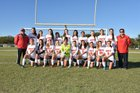 Monarch Knights Girls Varsity Soccer Winter 18-19 team photo.