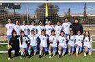 Reagan Raiders Girls Varsity Soccer Winter 18-19 team photo.