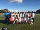 Ridgeview Wolf Pack Girls Varsity Soccer Winter 18-19 team photo.