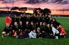 Archbishop McCarthy Mavericks Girls Varsity Soccer Winter 18-19 team photo.