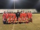 Arvin Bears Girls Varsity Soccer Winter 18-19 team photo.