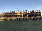 Woodcrest Christian Royals Girls Varsity Soccer Winter 18-19 team photo.