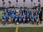 Garey Vikings Girls Varsity Soccer Winter 18-19 team photo.
