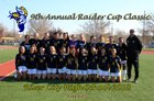 River City Raiders Girls Varsity Soccer Winter 18-19 team photo.