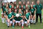 Lincoln Trojans Girls Varsity Soccer Winter 18-19 team photo.