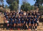 Sonora Raiders Girls Varsity Soccer Winter 18-19 team photo.