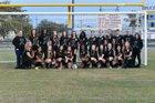 Auburndale Bloodhounds Girls Varsity Soccer Winter 18-19 team photo.
