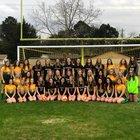 Pensacola Catholic Crusaders Girls Varsity Soccer Winter 18-19 team photo.