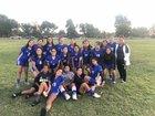 El Monte Lions Girls Varsity Soccer Winter 18-19 team photo.